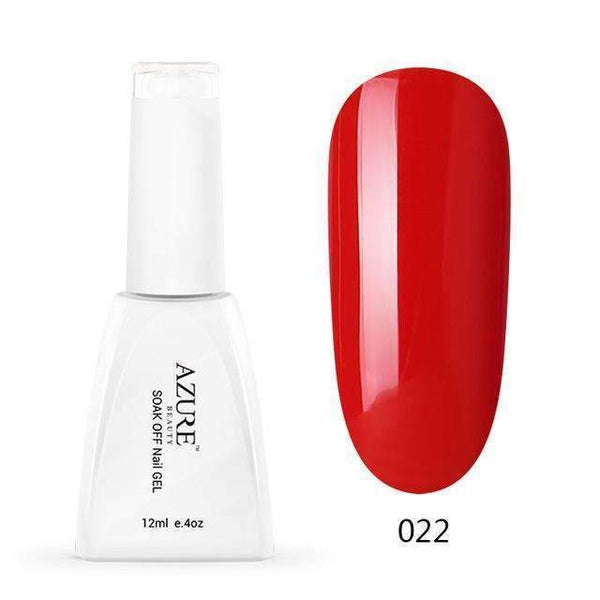 PinKart-USA Online Shopping R022 12Ml Uv Nail Gel Polish Soak Off Nail Gel Grey/Red Color Gel Polish Diy Nail Art Varnish For