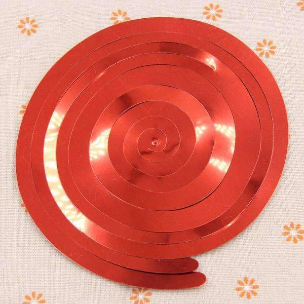 PinKart-USA Online Shopping Red 6Pc/Pack Ceiling Hanging Swirl Decoration Metallic For Wedding Christmas Halloween Birthday Party