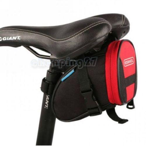 PINkart-USA Online Shopping Red Black Cycling Bike Bicycle Rear Seat Saddle 1L Tail 600D Bag Quick Release 8 Colors Available Free