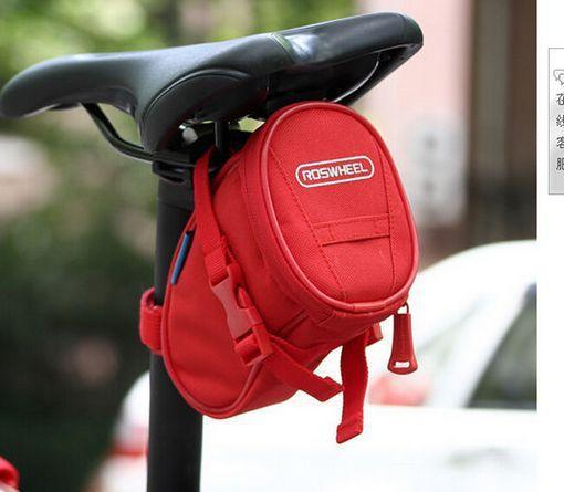 PINkart-USA Online Shopping Red Cycling Bike Bicycle Rear Seat Saddle 1L Tail 600D Bag Quick Release 8 Colors Available Free