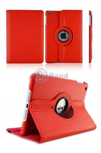 PinKart-USA Online Shopping Red For Apple Ipad Pro 10.5 Released Flip Pu Leather Rotating Case Stand Smart Cover For Ipad Pro
