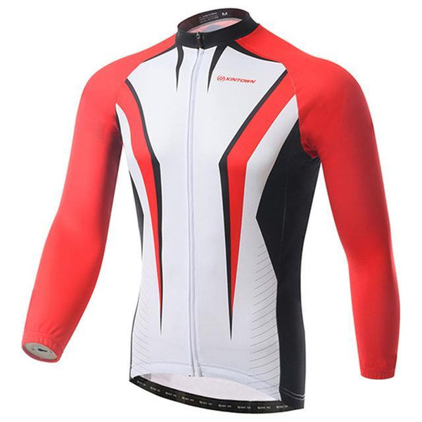 PINkart-USA Online Shopping Red / L Pro Racing Cycling Jersey Long Sleeve Bike Team Bicycle Cycling Clothing Ropa Invierno