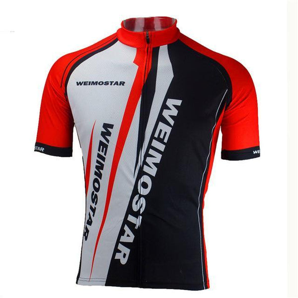 PINkart-USA Online Shopping Red / L Pro Team Men'S Cycling Jersey Breathable Cycling Clothing Quick Dry Mtb Bike Bicycle Clothes