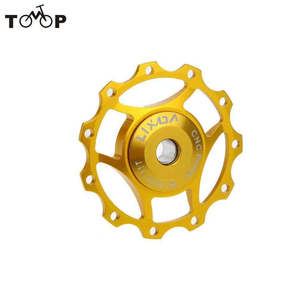 PinKart-USA Online Shopping Rode Bicycle Chain Rerailleur Mtb Bike Rear Derailleur Aluminum 11T Guide Roller Idler Pulley Jocke