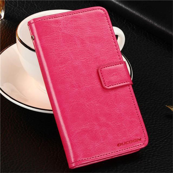 PinKart-USA Online Shopping Rose Gucoon Vintage Wallet Case For Zopo Speed 7 Plus Zp952 5.2Inch Pu Leather Retro Flip Cover