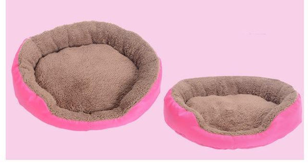 PINkart-USA Online Shopping Rose / L 4 Colors Pet Dog Bed Winter Warm Dog House For Small Large Dogs Soft Pet N Kennel Cat Sofa Mat