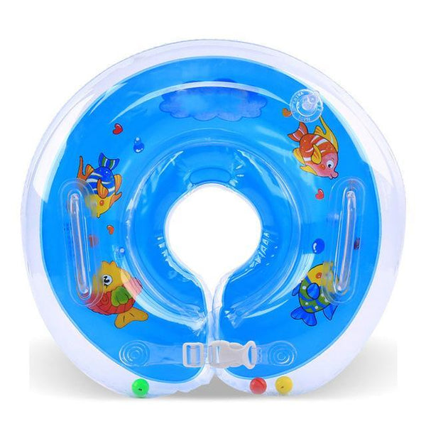 PINkart-USA Online Shopping round blue Swimming Baby Accessories Swim Neck Ring Baby Tube Ring Safety Infant Neck Float Circle For