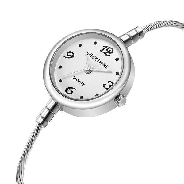 PINkart-USA Online Shopping S Ladies Quartz Bracelet Watch Women Brand Quartz Wrist Watch Clock Female Fashion Casual Steel