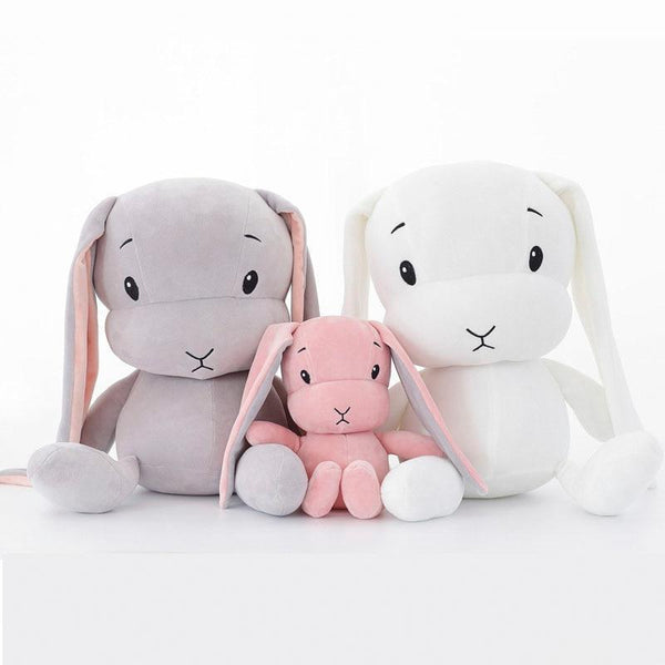 PINkart-USA Online Shopping Sales Baby Plush Toys Cute Rabbit Long Ear Kids Stuffed Soft Dolls Children Gifts Infants Born