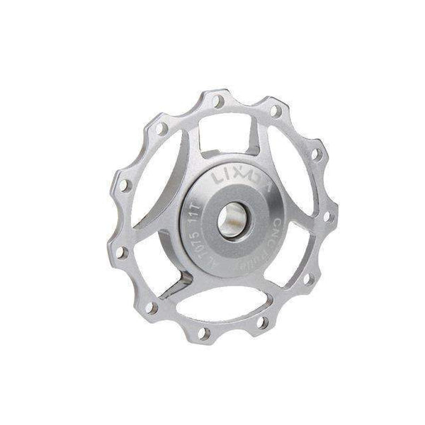 PinKart-USA Online Shopping Silver / China Rode Bicycle Chain Rerailleur Mtb Bike Rear Derailleur Aluminum 11T Guide Roller Idler Pulley Jocke