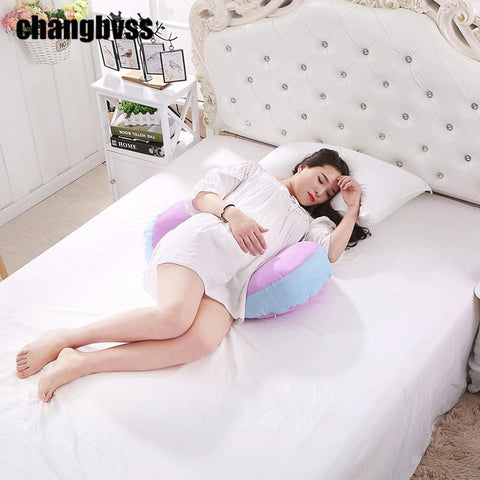 PINkart-USA Online Shopping Simple 95*48*20Cm Body Pillow Comfortable Maternity Waist Pillows For Pregnant Side Sleeper