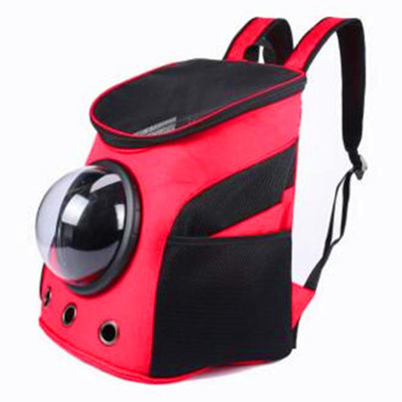 Space Capsule Travel Bag For Small Dogs Cat Carrier Dog Carrying Breathable Shoulder Backpack