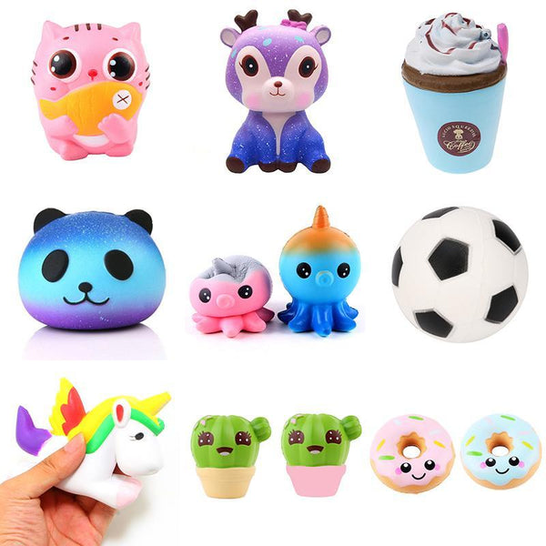 PINkart-USA Online Shopping Squeeze Squishys Galaxy Cute Panda Cream Scented Squishy Funny Gadgets Anti Stress Novelty