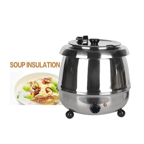 PINkart-USA Online Shopping Stainless Steel 10L Soup Pots Multi Cooker Electric Soup Kettle Machine Chicken Bone Stew Soup