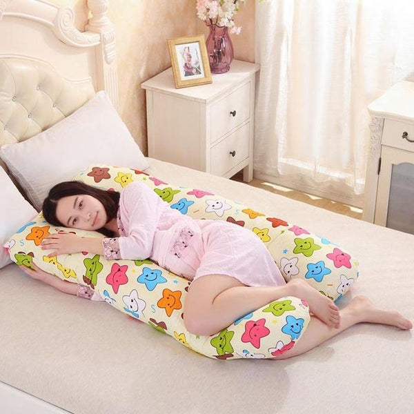 PINkart-USA Online Shopping star Pregnancy Pillows U Shape Maternity Maternity Belt Body Character Pregnant Pillow Cartoon Pregnant