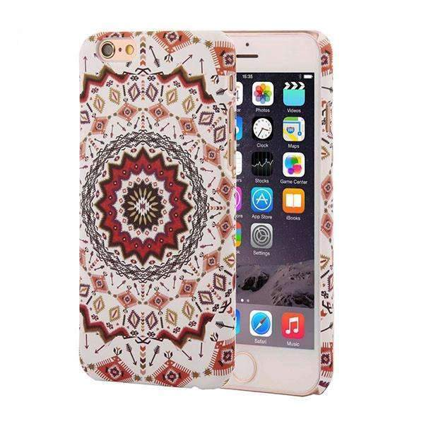 PinKart-USA Online Shopping Style 1 / For Iphone 6 6s Retro Floral Paisley Flower Mandala Henna Phone Cases For Iphone 6 6S Plus Case Fashion Vintage