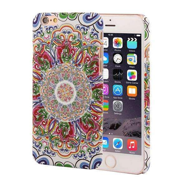 PinKart-USA Online Shopping Style 2 / For Iphone 6 6s Retro Floral Paisley Flower Mandala Henna Phone Cases For Iphone 6 6S Plus Case Fashion Vintage