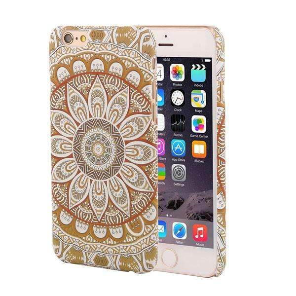 PinKart-USA Online Shopping Style 3 / For Iphone 6 6s Retro Floral Paisley Flower Mandala Henna Phone Cases For Iphone 6 6S Plus Case Fashion Vintage