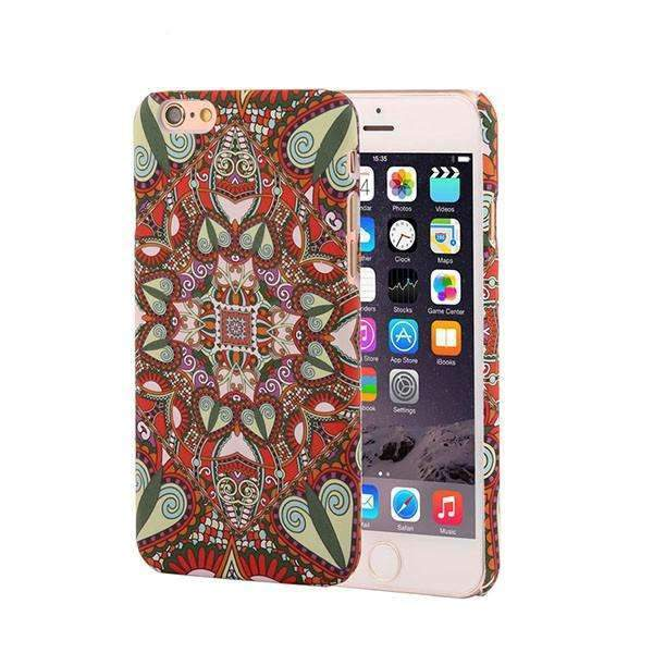 PinKart-USA Online Shopping Style 5 / For Iphone 6 6s Retro Floral Paisley Flower Mandala Henna Phone Cases For Iphone 6 6S Plus Case Fashion Vintage