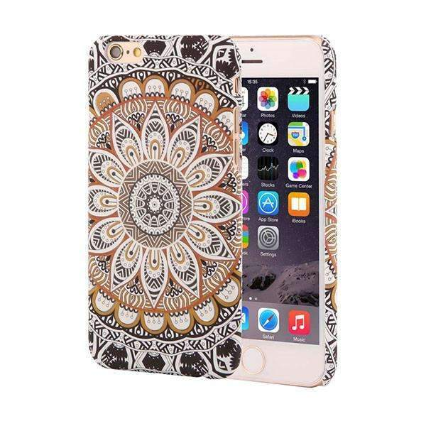 PinKart-USA Online Shopping Style 6 / For Iphone 6 6s Retro Floral Paisley Flower Mandala Henna Phone Cases For Iphone 6 6S Plus Case Fashion Vintage