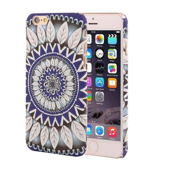PinKart-USA Online Shopping Style 7 / For Iphone 6 6s Retro Floral Paisley Flower Mandala Henna Phone Cases For Iphone 6 6S Plus Case Fashion Vintage
