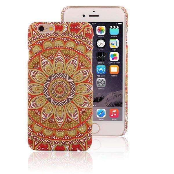 PinKart-USA Online Shopping Style 8 / For Iphone 6 6s Retro Floral Paisley Flower Mandala Henna Phone Cases For Iphone 6 6S Plus Case Fashion Vintage