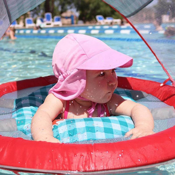 PINkart-USA Online Shopping Summer Baby Hat Sun Protection Swimming Cap Outdoor Uv Protection Sun Beach Hats Boys Girls