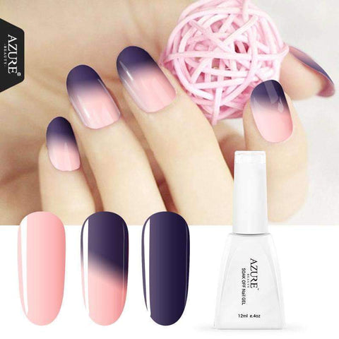 PinKart-USA Online Shopping T01 Beauty Est Nail Gel Polish Temperature Changing Nail Color Soak-Off Led/Uv Gel Polish