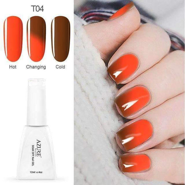 PinKart-USA Online Shopping T04 12Ml Temperature Chameleon Nail Gel Polish Thermal Color Change Uv Gel Nail Soak Off Gel