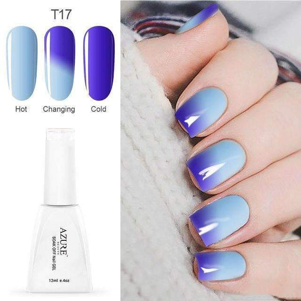 PinKart-USA Online Shopping T17 12Ml Temperature Chameleon Nail Gel Polish Thermal Color Change Uv Gel Nail Soak Off Gel