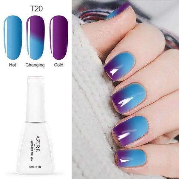 PinKart-USA Online Shopping T20 12Ml Temperature Chameleon Nail Gel Polish Thermal Color Change Uv Gel Nail Soak Off Gel