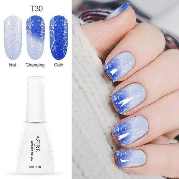 PinKart-USA Online Shopping T30 12Ml Temperature Chameleon Nail Gel Polish Thermal Color Change Uv Gel Nail Soak Off Gel