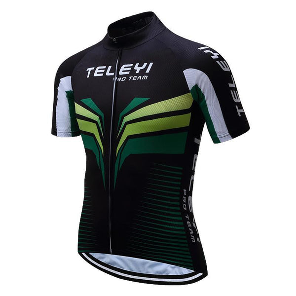 PINkart-USA Online Shopping Teleyi Brand Pro Team Men Cycling Jersey Ropa Ciclismo Breathable Mtb Bike Jersey Shirt Maillot