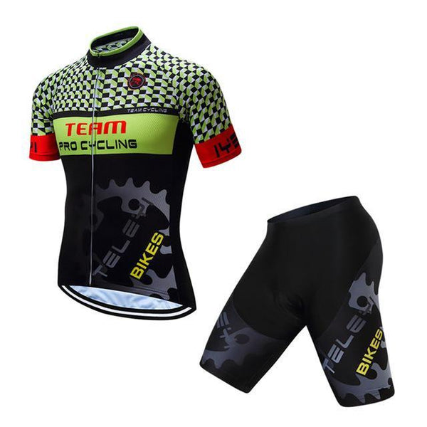 PINkart-USA Online Shopping Teleyi Breathable Cycling Jersey Summer Mtb Bicycle Clothes Ropa Ciclismo Short Sleeve Bike