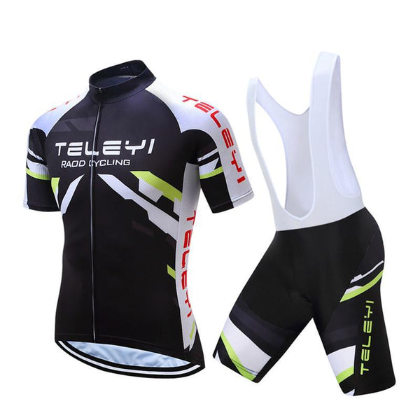 PINkart-USA Online Shopping Teleyi Men'S Bike Team Racing Cycling Clothing Short Sleeve Cycling Jersey Summer Breathable Bike