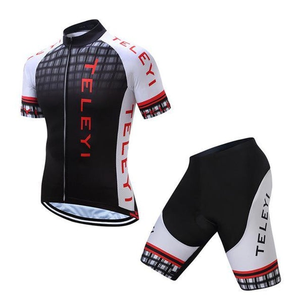 PINkart-USA Online Shopping Teleyi Ropa Ciclismo Cycling Jersey Set Mtb Racing Sport Cycling Clothing Quick Dry Bicycle Clothes