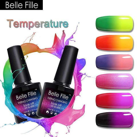 PinKart-USA Online Shopping Temperature Gel Polish Nail Art Design Hot Changing Gelpolish Funny Makeup Hot