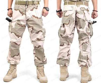 PINkart-USA Online Shopping Three sand camouflag / XXS Military Tactical Pants Men Emerson Fatigue Tactical Solid Military Army Combat Cargo Pants