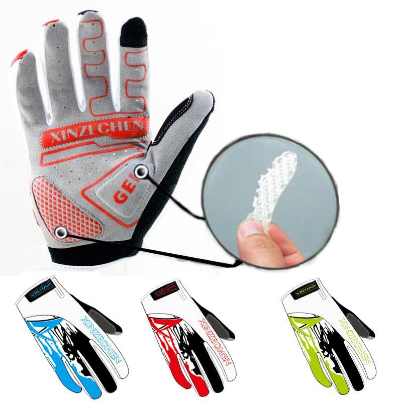PINkart-USA Online Shopping Touch Screen 3D Gel Cycling Gloves Bike Bicycle Racing Outdoor Sports Full Finger Gloves Size M-Xl