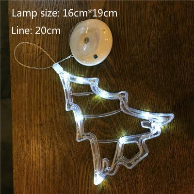 PINkart-USA Online Shopping Tree / White light Led Christmas Decorative For Home Year'S Day Holiday Light Deer /Bell /Stars/Tree 6.3In*7.5In