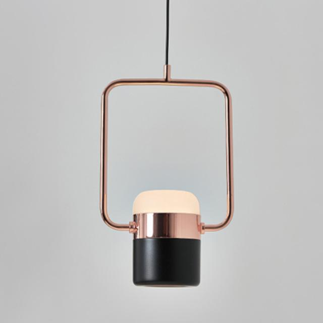 PINkart-USA Online Shopping Type A / Rose Gold and Black Modern Led Pendant Lights Bedroom Living Room Minimalist Restaurant Pendant Lamp Fixtures Clothing