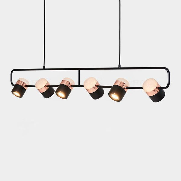 PINkart-USA Online Shopping Type C / Rose Gold and Black Modern Led Pendant Lights Bedroom Living Room Minimalist Restaurant Pendant Lamp Fixtures Clothing