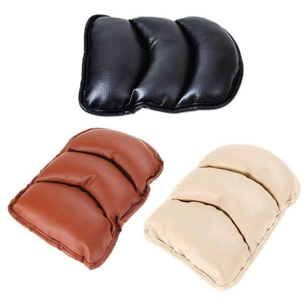 PinKart-USA Online Shopping Universal Car Seat Cover Soft Leather Auto Center Armrest Console Box Armrest Seat Protective Pad