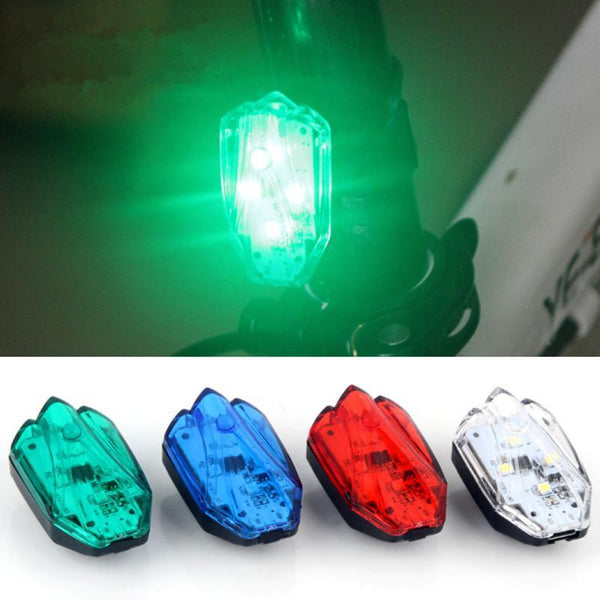 Usb Rechargeable 4 Led Cycling Bicycle Tail Light Waterproof Warning Safety Bike Light Bike
