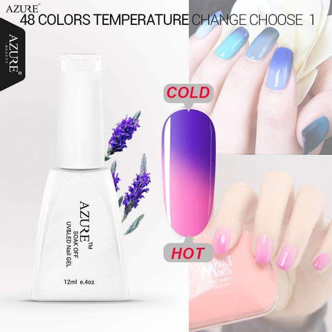 PinKart-USA Online Shopping Uv Temperature Change Color Gel 12Ml Long Lasting Soak Off Nail Gel Polish Gels For Nails Nai