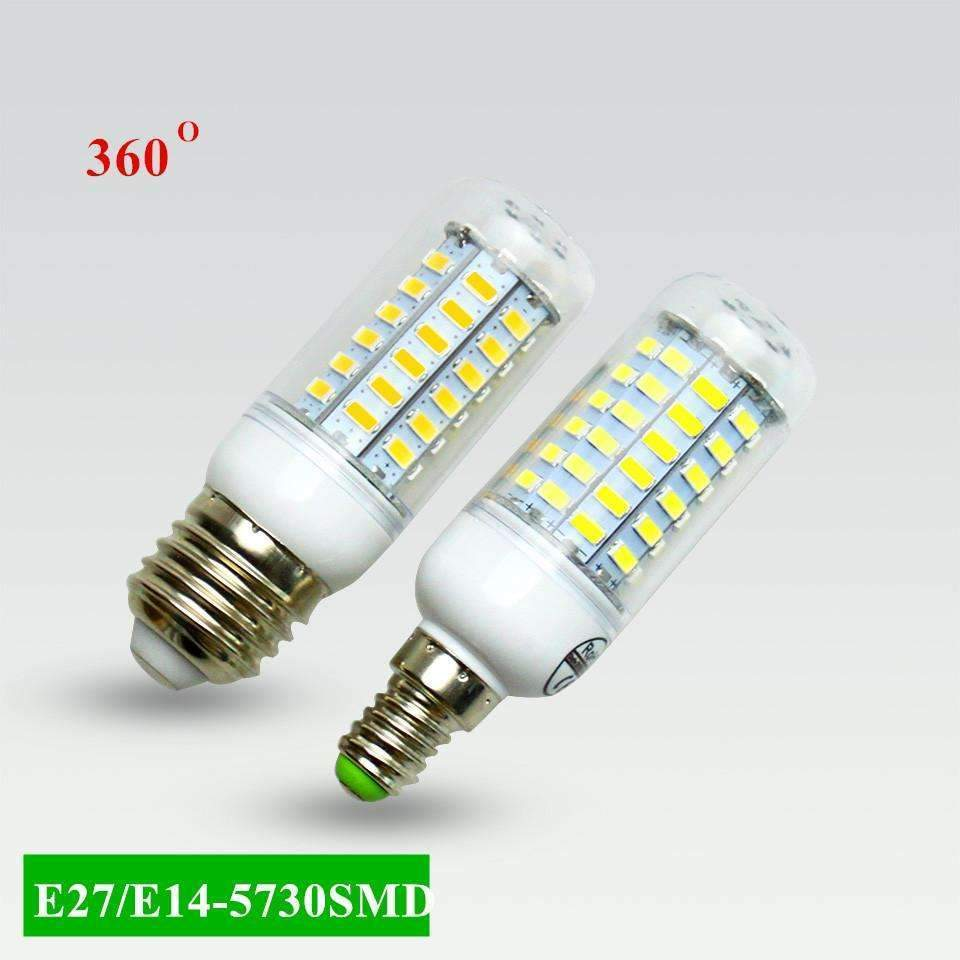 PinKart-USA Online Shopping Warm White / E27 24LEDs Super Led Bulb E27 E14 220V Smd 5730 Led Lamp 24 36 48 56 69Leds Ac 230V 5730Smd Led Corn Bulb Ligh