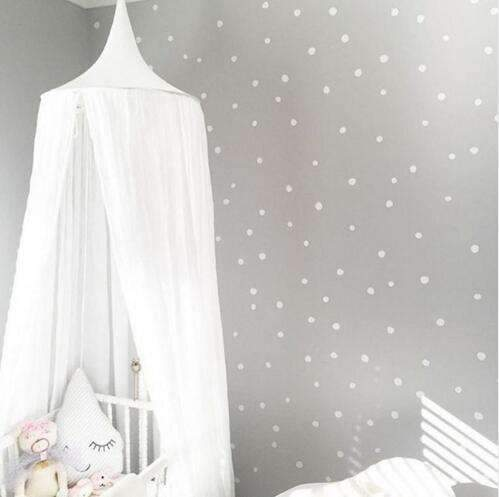 PinKart-USA Online Shopping white / 240cm 240Cm Baby Mosquito Net Photography Props Baby Room Decoration Home Bed Canopy Curtain Round Crib