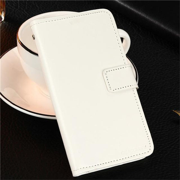 PinKart-USA Online Shopping White Gucoon Vintage Wallet Case For Zopo Speed 7 Plus Zp952 5.2Inch Pu Leather Retro Flip Cover