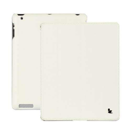 PinKart-USA Online Shopping White Jisoncase Brand Case For Ipad 2 3 4 Leather Case Pu Protective Smart Cover Case For Ipad 2 3 4