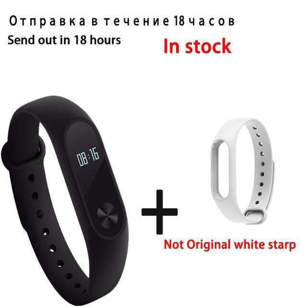 PinKart-USA Online Shopping white Original Xiaomi Mi Band 2 Smart Bracelet Wristband Tracker Fitness Mi Band Oled Touchpad Sleep